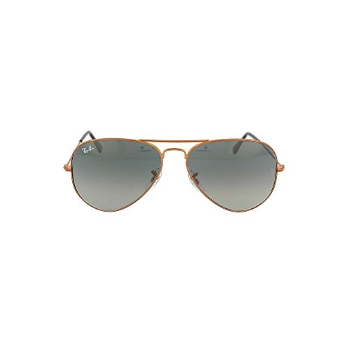 Ray-Ban Men's Aviator Sunglasses, Bronze/Grey, One Size ()