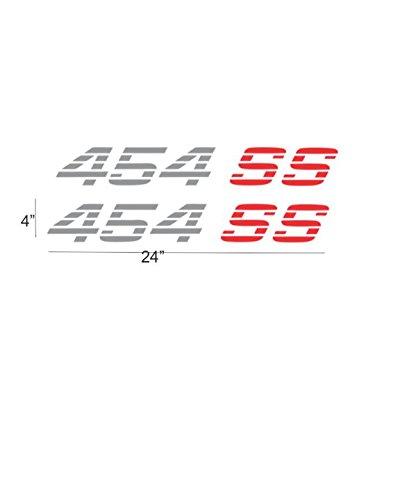Chevy 454 Ss Stickers Decals Lanyard Silverado Camaro Sierra Racing