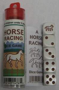 Amazon Com Horse Racing Dice Game By Koplow Games Toys Games