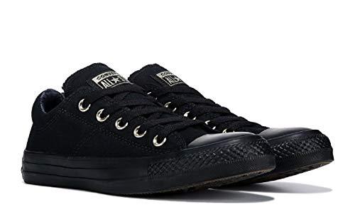 Black Leather Sneaker Top Converse Women's Mason Madison Low 4zw6xYxEq