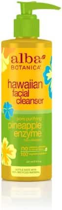 Alba Botanica Hawaiian, Pineapple Enzyme Facial Cleanser, 8 Ounce (Pack of 2)