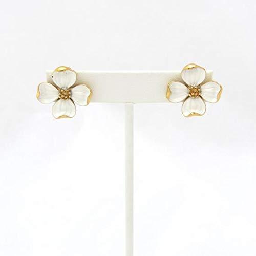 vanyjewl VANY Dogwood Jewelry Set | Flower Earrings | Trifari Brooch | Floral Earrings | Summer Earrings