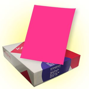 Bright Color Paper - Melon Pink/Hot Pink by Kanzaki