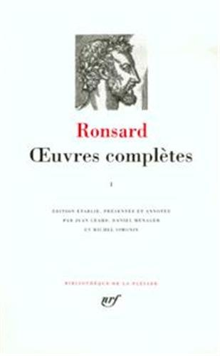 Ronsard : Oeuvres complètes, tome 2