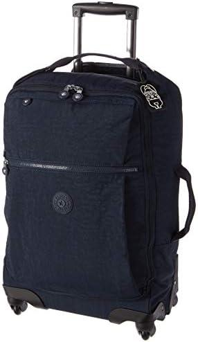 Kipling Darcey Softside Spinner Wheel Luggage, BLUE BLEU 2, Carry-On 22-Inch