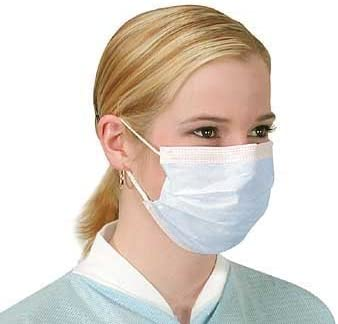 Face Masks Surgical X Virus Earloops With 12 Flu Anti