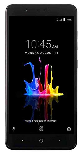 ZTE BLADE Z MAX Z982 (32GB, 2GB RAM) 6.0 Full HD Display, Dual Rear Camera, 4080 mAh Battery, 4G LTE GSM Unlocked Smartphone w/ US Warranty (Black)
