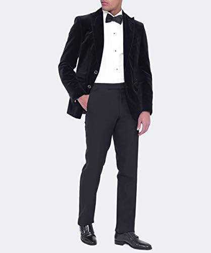 Wensum Mens Wool Cranwick Trousers Black