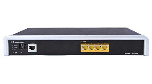 (Audiocodes Mediant 500 Enterprise Session Border Controller (E-SBC) - 25 sessions. - Part Number M500-ESBC-25)