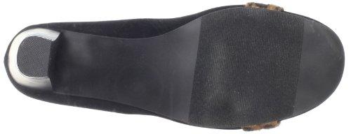 Patsy Suede 10 Shoes W Black US Womens Pump Annie Leopar xqEFSH0