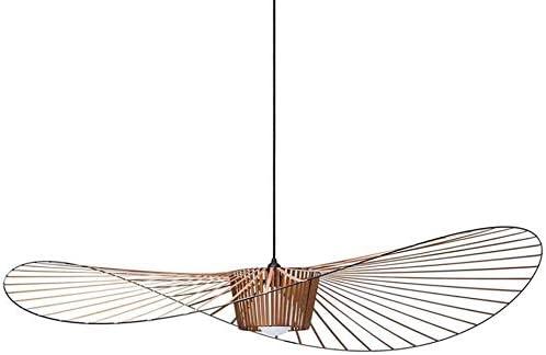 Bhesky Lampe Suspendue Moderne A Led Vertigo Suspension Lustre Suspendu Fibre De Verre Chapeau Suspendu Abat Jour Luminaire Salle A Manger Salon Lampes Bar Salle De Cafe 80cm Amazon Fr Luminaires Et Eclairage