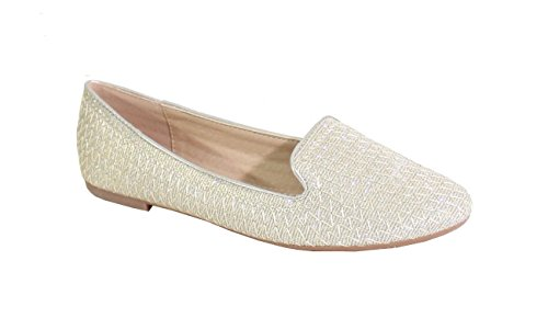 By Femme Plate Ballerine Shoes Style Brillant rEwCWrqXUc