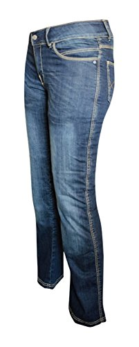 9a32c512 Image Unavailable. Image not available for. Color: Bull-it SR6 Vintage  Style Women's Motorcycle Jeans with ...