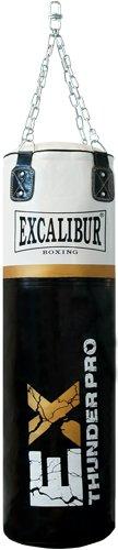 Saco de boxeo con Excalibur Thunder por 120 cm de largo, con cuerda cadena y giratorio MAXXUS Boxsack_THUNDER_PRO