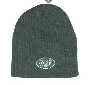 New York Jets NFL Team Apparel Classic Knit Beanie Hat by Reebok