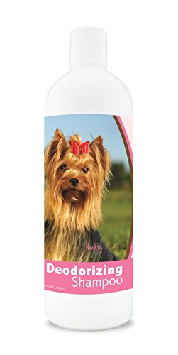 Healthy Breeds Deodorizing Dog Shampoo for Yorkshire Terrier, Golden Brown - Over 200 Breeds - Hypoallergenic Formula - For...