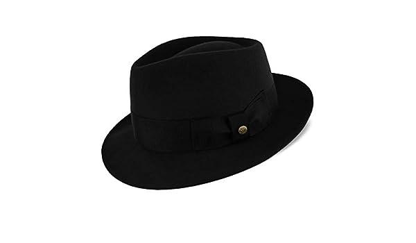 Amazon.com  Compass - Walrus Hats Diamond Crown Wool Felt Fedora Hat   Health   Personal Care b285125cf052