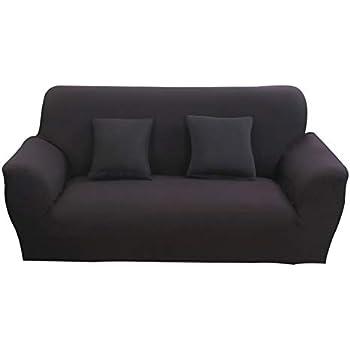 Amazon.com: Hotniu - Funda elástica para sofá de 1 pieza, de ...
