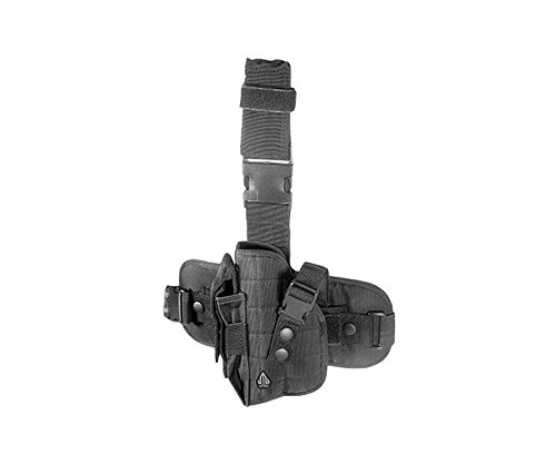 UTG Special Operations Universal Tactical Black Leg Holster - Gen II (Pad Universal Thigh)