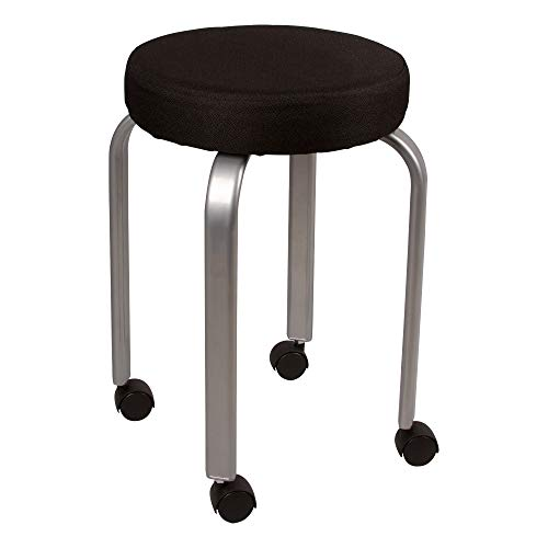 Norwood Commercial Furniture Padded Mobile Stool, NOR-TSU1071-SO ()