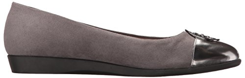 Book Trend A2 Grey Ballet Combo Women's Aerosoles Flat by ZqBwxnIvU
