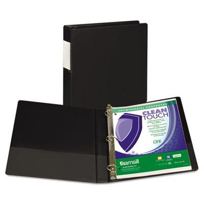 Clean Touch Antimicrobial Locking D-Ring Binder, 11 X 8-1/2, 1