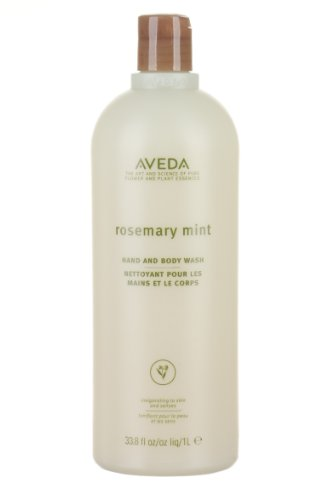 (Aveda Rosemary Mint Hand and Body Wash 33.8oz Cleansing Lets You Wash Frequently Without Over Drying)