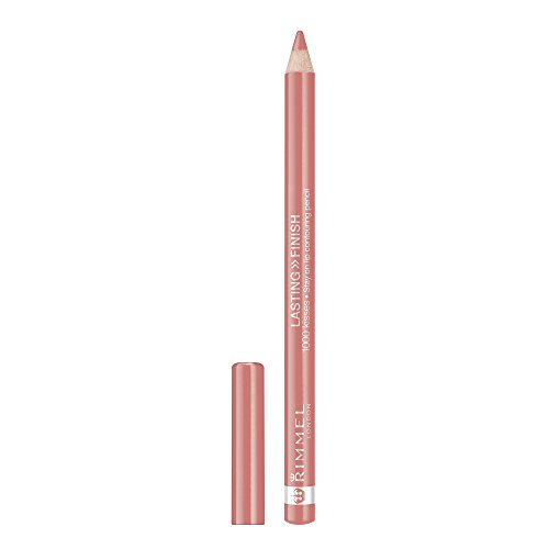 Rimmel Lasting Finish 1000 Kisses Lip Liner, Spiced Nude, 0.