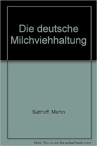 Book Die deutsche Milchviehhaltung