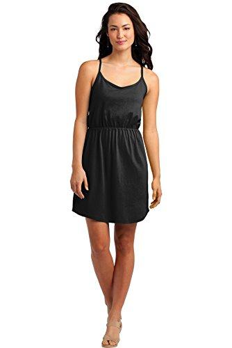 District Strappy Women's District Women's Dress Black vq85vwt