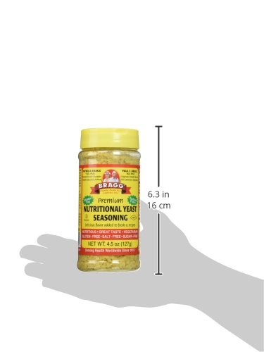 Bragg Nutritional Yeast Seasoning, Premium, 4.5 Ounce (2 Count) by Bragg (Image #7)