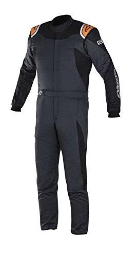 Alpinestars Mens GP Race Suit (Black, X-Large/Euro60) by Alpinestars