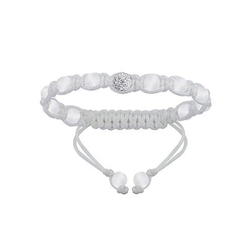 Helios Bijoux - Bracelet Chambala Enfant strass Blanc - Neuf