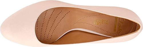 Clarks - Womens Arista Abe Shoe, Size: 12 C/D US, Color: Blush Pink Leather