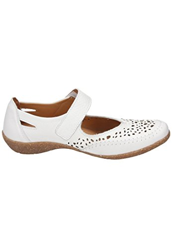 Comfortabele Dames-slipper Wit 942207-3 Wit