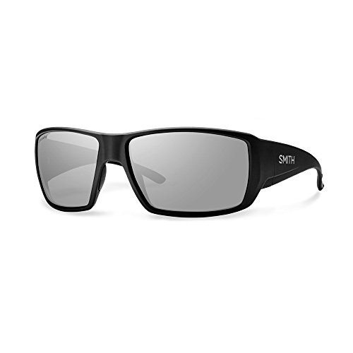Smith Guides Choice ChromaPop+ Polarized Sunglasses, Matte Black, Platinum - Guide To Sunglasses