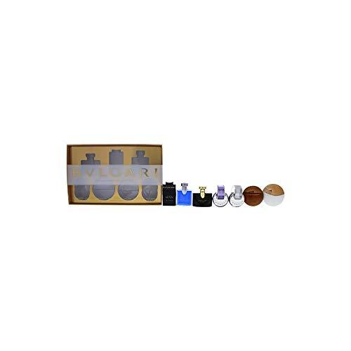 Bvlgari Variety Mini EDT & EDP 7 Pc. Set, Omnia Amethyste, Jasmine Noir, Aqua Divina, Man In Black, Aqua Amara, Blv Pour Homme, Omnia Crystalline .17 oz.