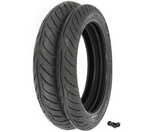 - Avon Roadrider AM26 Tire Set - Honda CB750 Nighthawk - 1991-2001 - Tires and Valves
