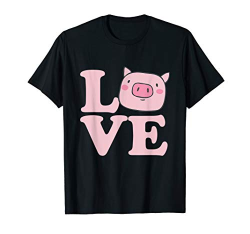 - I Love Pigs T-Shirt