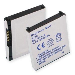 (Motorola E815 Cell Phone Battery (Li-Ion 3.7V 600mAh) - Replacement For Motorola V710 Cellphone Battery)