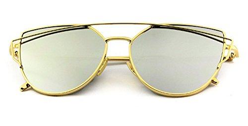 JUNHONGZHANG Gafas De B De Viaje De Metal Sol mi De Gafas Gafas Sol Moda g6gwqrS
