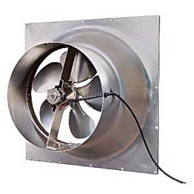 Natural Light 10 Watt Gable Solar Attic Fan - 1