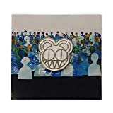 Radiohead 2018 Tour Bear Logo Enamel Pin White