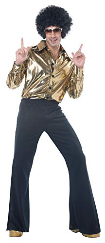 Mens Disco King 1970s Costume Size Large -