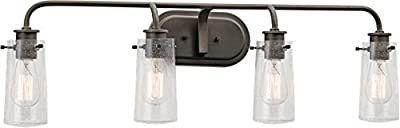 Kichler 45460OZ Braelyn Bath 4-Light, Olde Bronze