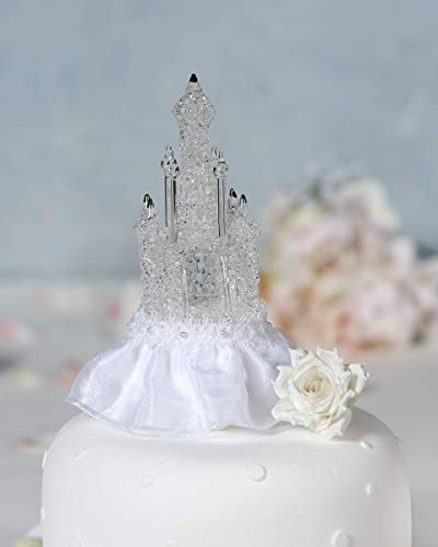 Cinderella Castle Wedding Cake Topper ()