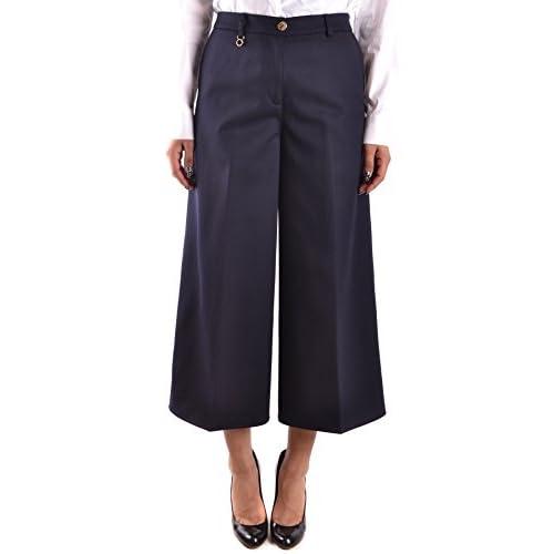 7e68e575841a Armani Jeans Mujer MCBI025168O Azul Lana Pantalón 60%OFF ...