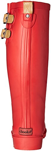 Chooka Damen Tall Rain Boot rot