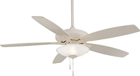 Minka Aire F522-BWH Bone White Ceiling Fan - Bwh Light Control