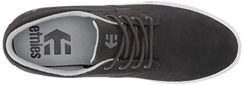 Para Hombre Vulc Gris Patinar Zapato Etnies Jameson BP8Upp